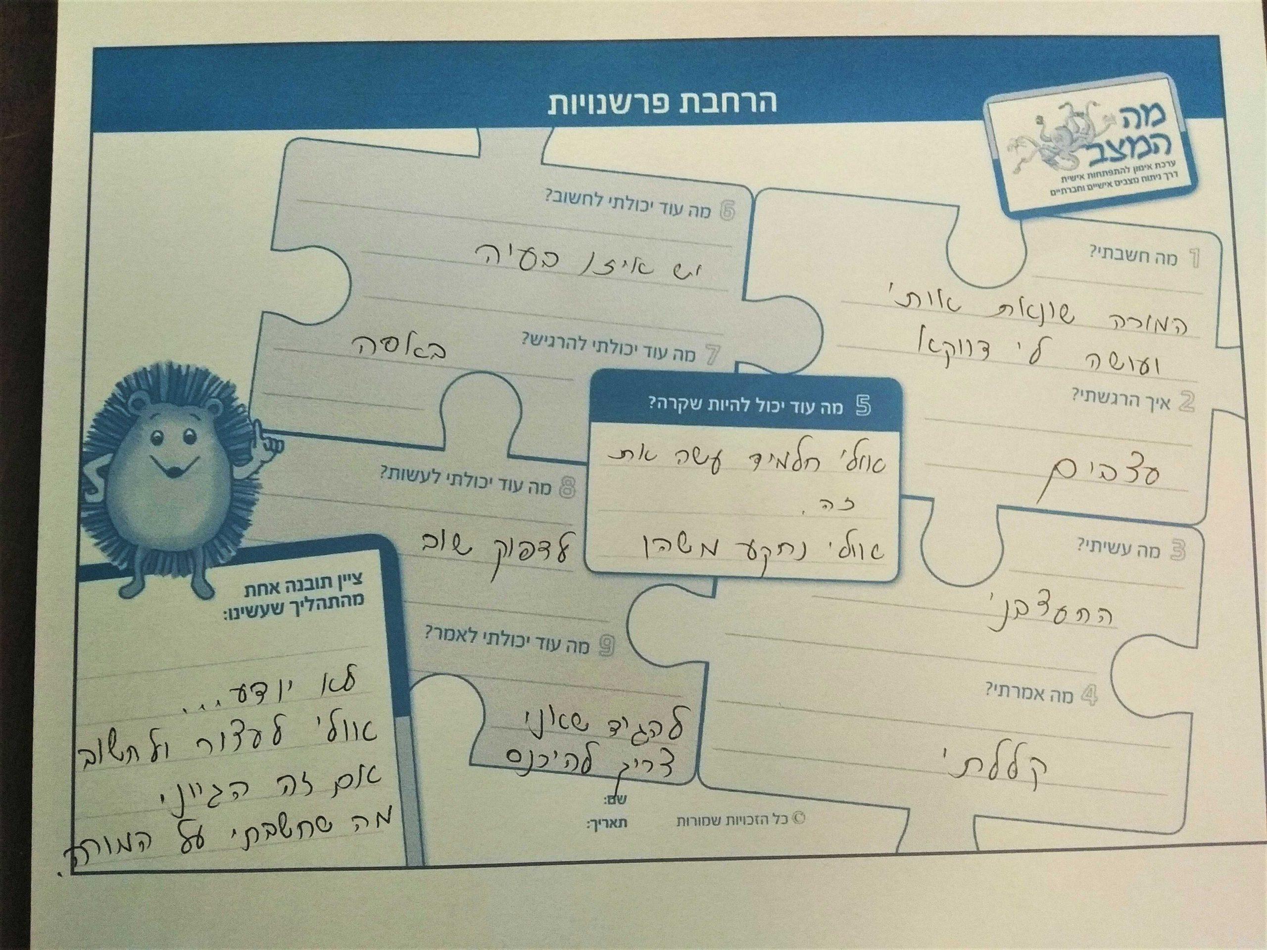 , איך ללמד את מודל אפרת